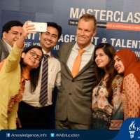 Talent Management and Leadership Masterclass by ‪Lars‬ Neilsen at Movenpick Hotel Karachi on 17th May, 2016