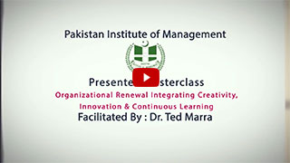 Highlights of Masterclass on Organizational Learning by Dr. Ted Marra