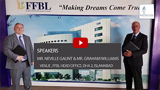 Neville Gaunt CEO Mindfit Ltd and Director Mr. Graham Williams trip to Pakistan | Knowledge Now